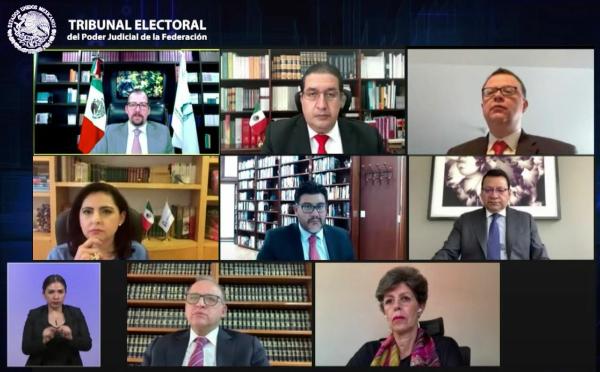 ElTribunal Electoral del Poder Judicial Federación avala acuerdo del INE para evitar sobrerrepresentación en la Cámara de Diputados
