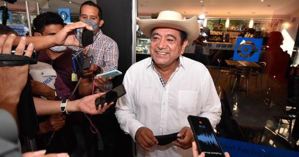 No dice cómo, pero Félix Salgado insiste: seré Gobernador. Llama a apoyar a candidatos de Morena