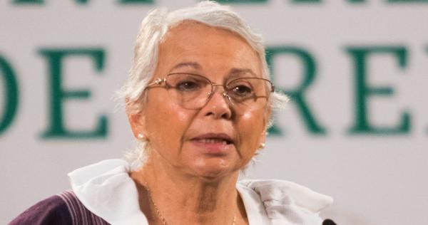 """Sánchez Cordero hace """"enérgico llamado"""" a Morena para respetar al INE, tras ataques de Salgado"""