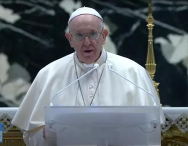 En su mensaje de Pascua, el Papa pide compartir vacunas con los países pobres