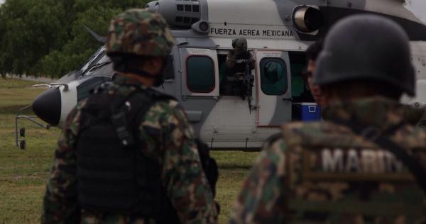 La Semar pone a disposición de la FGR a 30 marinos, acusados de desaparición forzada de varias personas en el 2014 en Nuevo Laredo