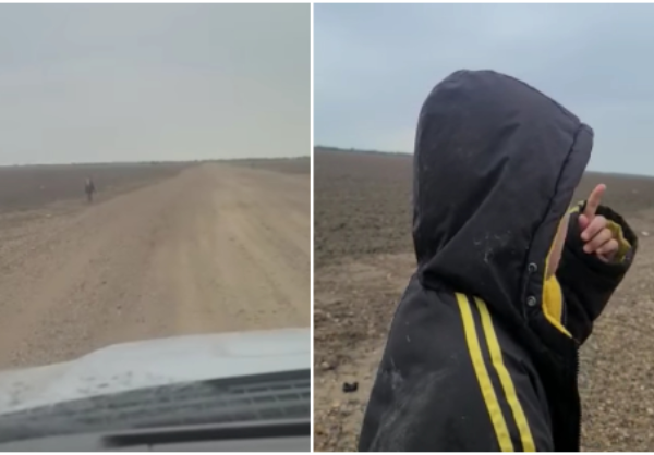 """Video: Niño de Nicaragua, solo en el desierto texano, pide ayuda a la Patrulla Fronteriza. """"Me dejaron botado. Tengo miedo"""""""
