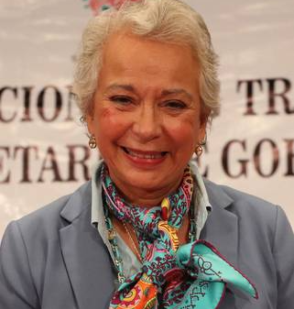 Siempre he sido libertaria y de izquierda, afirma la Secretaria de Gobernación, Olga Sánchez Cordero