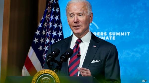 Biden se compromete a reducir a la mitad las emisiones de gases de efecto invernadero