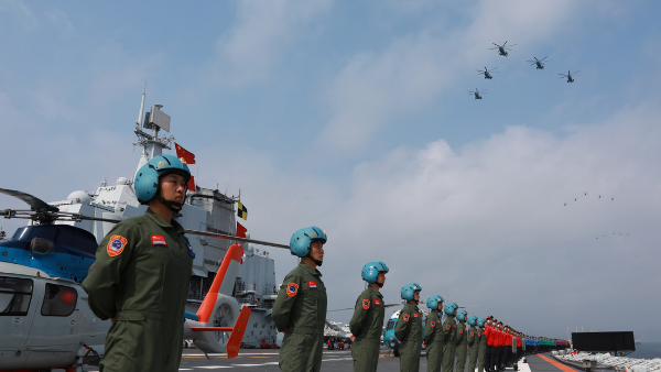 Video: Pekín refuerza su flota del mar de la China Meridional con dos buques de guerra y un submarino nuclear