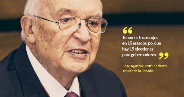 """En México sigue la """"tendencia ancestral de burlar las elecciones"""": Ortiz Pinchetti, titular de la Fiscalía Especializada en Delitos Electorales"""