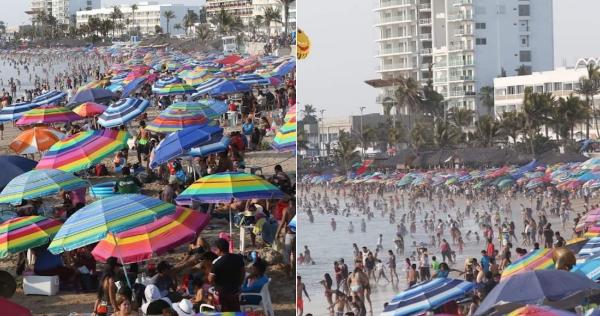 FOTOS: Saturados, la mayor parte de playas y balnearios del país: una gran fiesta, sin importar la amenaza de una tercera ola de contagios de COVID