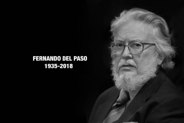 Homenaje a Fernando del Paso,el alto señor de las palabras del que seguimos aprendiendo