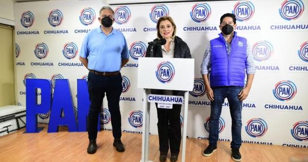 La candidata del PAN al gobierno de Chihuahua, María Eugenia Campos, vinculada a proceso, acusada de haber recibido 9.2 millones de pesos del ex mandatario estatal, el priista César Duarte