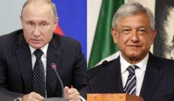 AMLO invita a Putin a celebrar 200 años de la Consumación de la Independencia de México