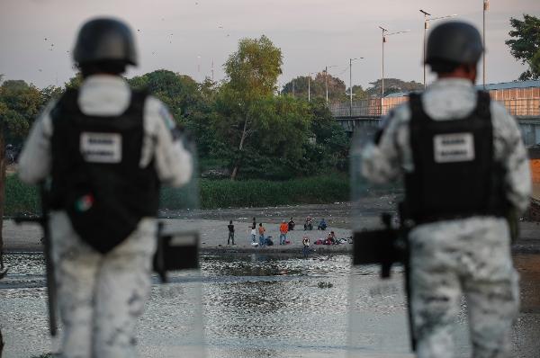 Es reforzada la vigilancia en la frontera sur de México para frenar migración, confirma el presidente López Obrador