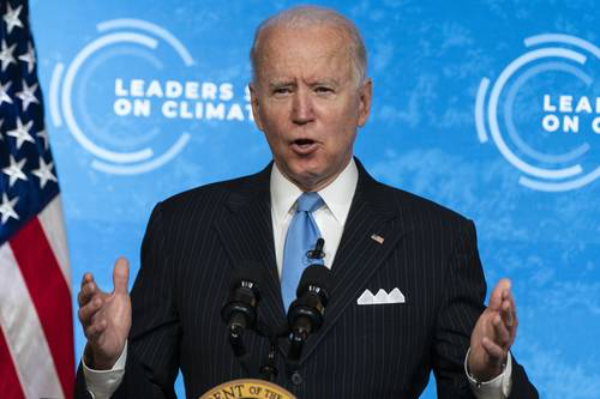 Biden y líderes mundiales, a favor de invertir cuantiosos recursos en energías limpias contra el cambio climático