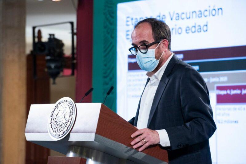 Video: En la primera semana de junio inicia vacunación a personas de 40 a 49 años. Reducción de contagios por 19 semanas consecutivas: Salud