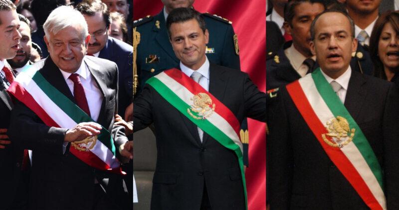Encuesta de El País: AMLO, logra las mejores calificaciones (56%) de los últimos tres presidentes. Calderón, (13% ) y Peña Nieto (10% )
