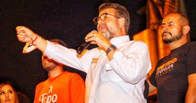 Ricardo Bours deja la candidatura al gobierno de Sonora por el MC para apoyar al Ernesto Gándara, del PRI-PAN-PRD