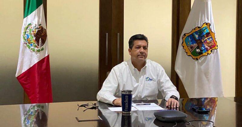 Orden de aprehensión contra el gobernador panista de Tamaulipas, Francisco Javier García Cabeza de Vaca. Emiten alerta migratoria para impedir que salga del país