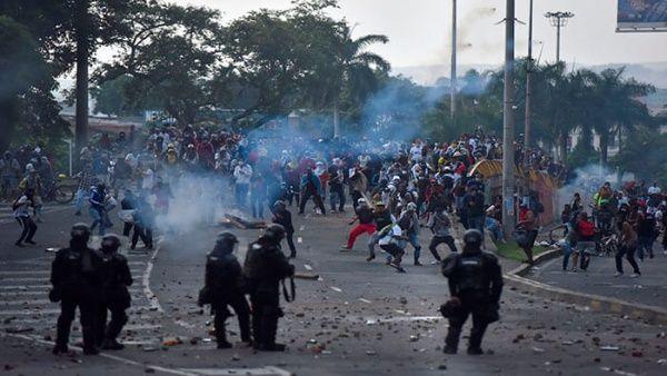 Videos: Represión a protestas en Cali, Colombia dejan al menos ocho muertos