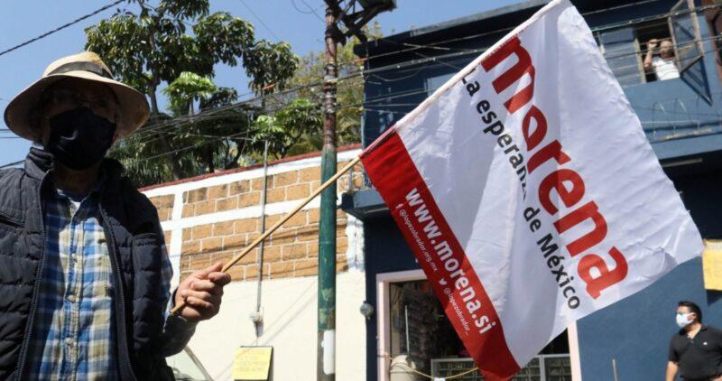 Encuesta del diario El Universal: Morena tiene 41% y lejos, PAN (16%), PRI (15%), PRD (3%)…