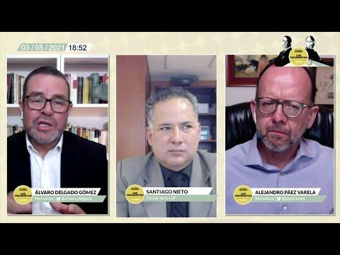 Entrevista y video: Santiago Nieto, titular de la UIF, afirma que es patético el apoyo de la Alianza Federalista al gobernador panista García Cabeza de Vaca