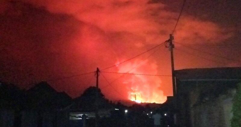 Video: La erupción del Nyiragongo ya deja 32 muertos y casi 6 mil 300 heridos