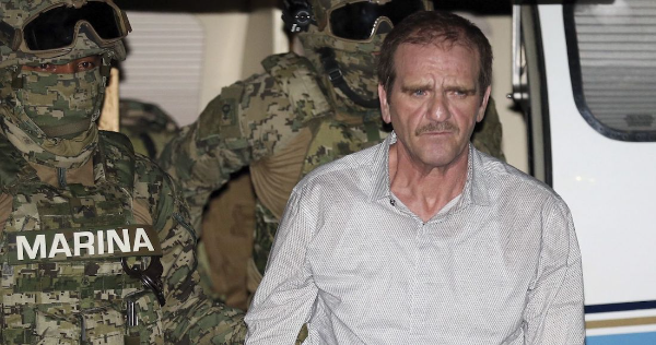 """""""El Güero"""" Palma sale del Altiplano, en Edomex; se encuentra bajo custodia de autoridades mexicanas"""