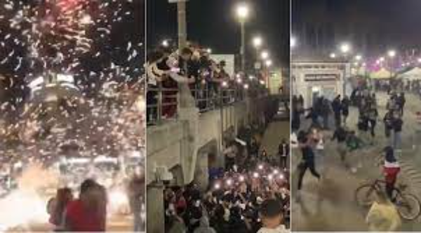 Más de 150 arrestos en fiesta masiva convocada por usuario de Tik Tok en Huntington Beach