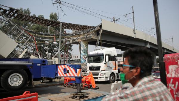 Video: Autoridades señalan la posible falla que ocasionó la tragedia en el Metro: falla en estructuras metálicas