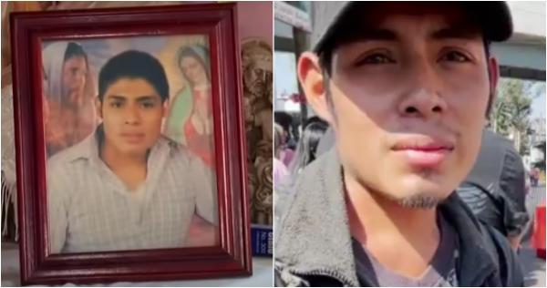 """El Miguel de la calle que conmovió al narrar  la caída del metro de la L-12, fue dado por muerto hace 6 años. Incluso,  su familia """"lo enterró"""", pero ¡lo vieron vivo en la red!"""