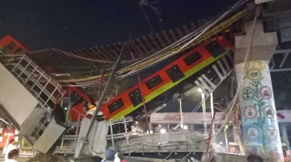 Videos: Ya son 20 muertos y 70 heridos por el accidente en la línea 12 del metro de la Ciudad de México
