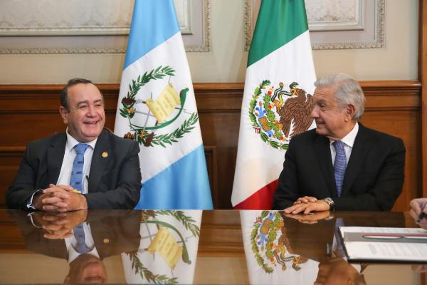 México y Guatemala acuerdan reducir migración irregular y combate al narco