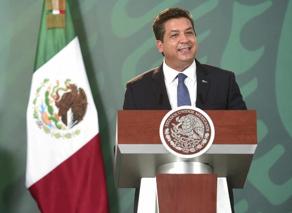 Abrió la Suprema Corte vía a la acción penal contra el gobernador panista de Tamaulipas, Francisco Javier García Cabeza de Vaca