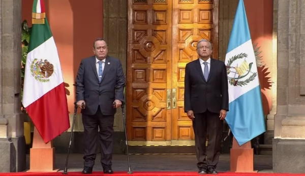 Video: AMLO recibe al presidente de Guatemala, Alejandro Giammattei