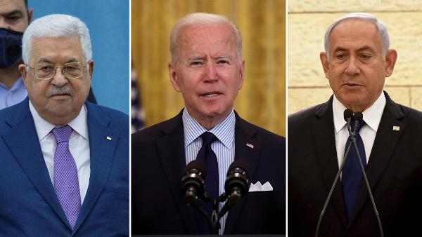 Video: Biden llamó por teléfono al presidente palestino Abbás y al primer ministro israelí Netanyahu para apaciguar el conflicto