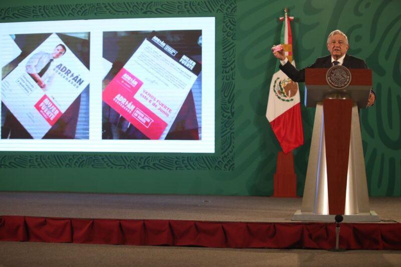 AMLO dice que la OEA puede venir a México a observar el panorama electoral y que en el caso de las tarjetas del candidato del PRI a NL decidirá la Fiscalía y no el INE