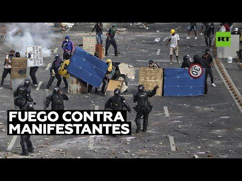 Videos:  Denuncian que un grupo de policías colombianos vestidos de civil abrió fuego contra manifestantes en Cali