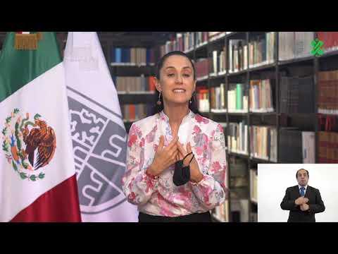 Video; Sigue a la baja el COVID-19 en la Ciudad de México; reabren negociaciones y se permite aforo del 50% y 40% en centros de concentración