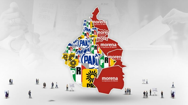 En al menos 10 alcaldías de la Ciudad de México aventaja la coalición Va por México, integrada por el PRI-PAN-PRD