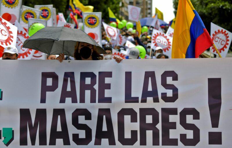 Videos: Manifestantes exigen cese de la represión en Colombia