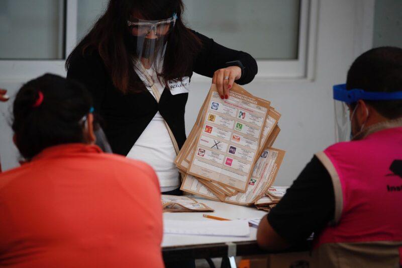 Recuento confirma resultados del PREP sobre diputados federales: INE. Juntos Haremos Historia, a la cabeza y crece Va por México