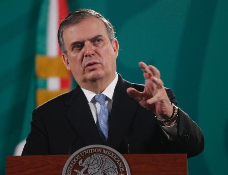 """Reitera Ebrard que el mensaje de EU sobre corrupción no es respuesta a nota diplomática de México. """"Es una definición de política exterior"""""""