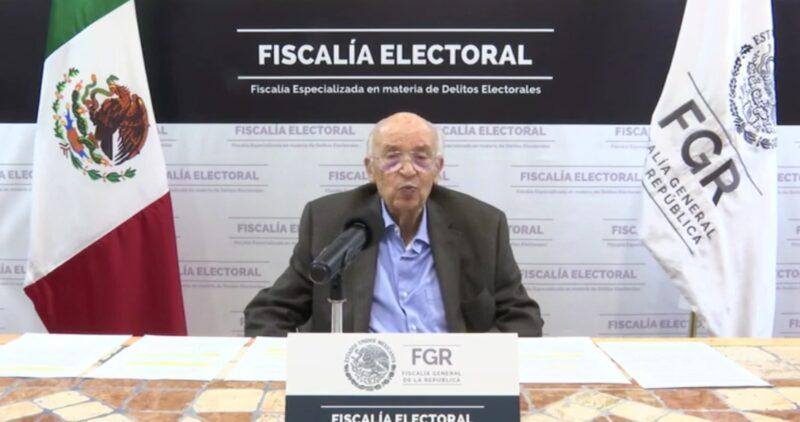 Video: Denuncias son menos de las que esperábamos: Fiscalía electoral