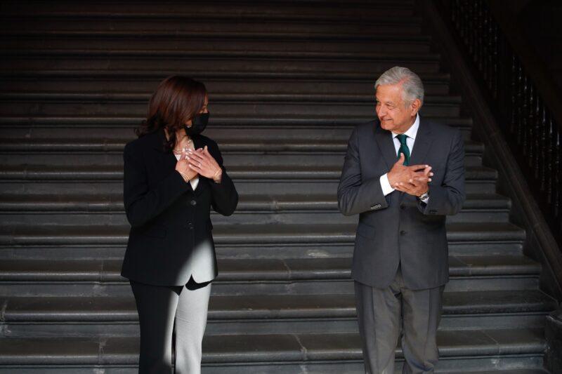 EU y México están de acuerdo en la defensa de los derechos de los trabajadores, afirmó la vicepresidenta Kamala Harris