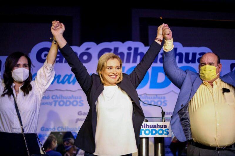 Con 67.96% del conteo, la panista Ma. Eugenia Campos gana en Chihuahua