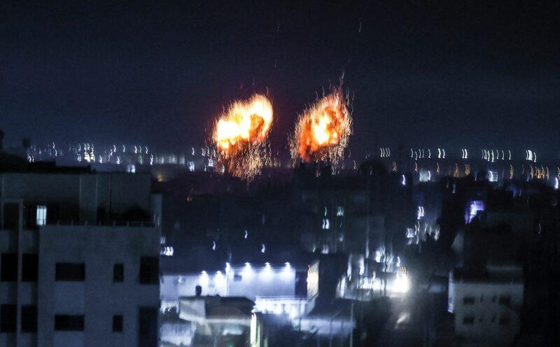 Nuevos bombardeos israelíes en la Franja de Gaza