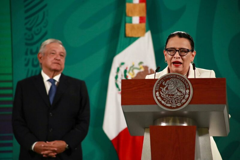 En 27 por ciento disminuyó la incidencia delictiva federal de enero a mayo, reporta la titular de Seguridad, Rosa Icela Rodríguez
