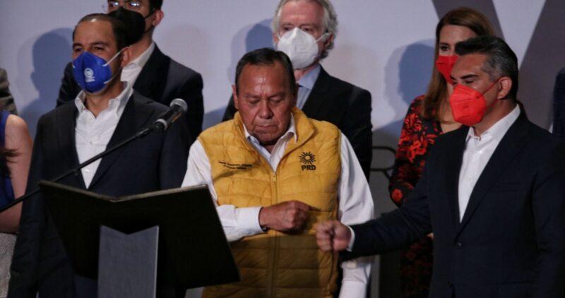 "Video: ""Se frenó al monstruo que está en la Presidencia"": Va por México"