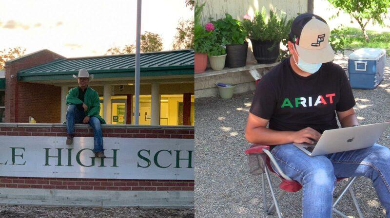Aceptan a campesino indocumentado del Valle en 10 universidades del país. Es michoacano