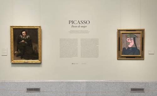 Busto de mujer, de Picasso, se expone de forma permanente en el Museo del Prado