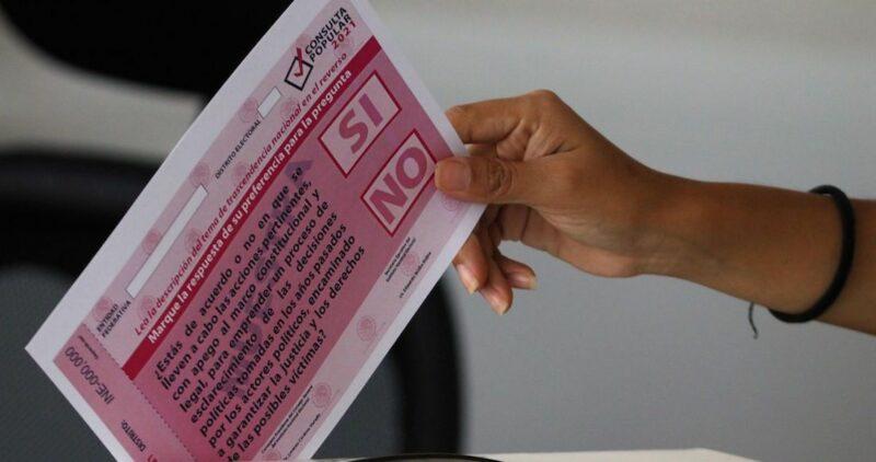 El Subcomandante Galeano, antes Sub Marcos, llama a pueblos originarios a votar SÍ en la consulta para enjuiciar a ex presidentes neoliberales, el 1 de agosto