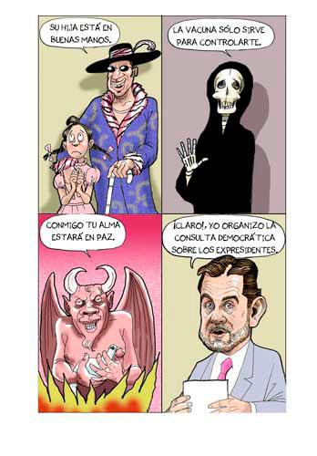 SEÑALES DE DESCONFIANZA